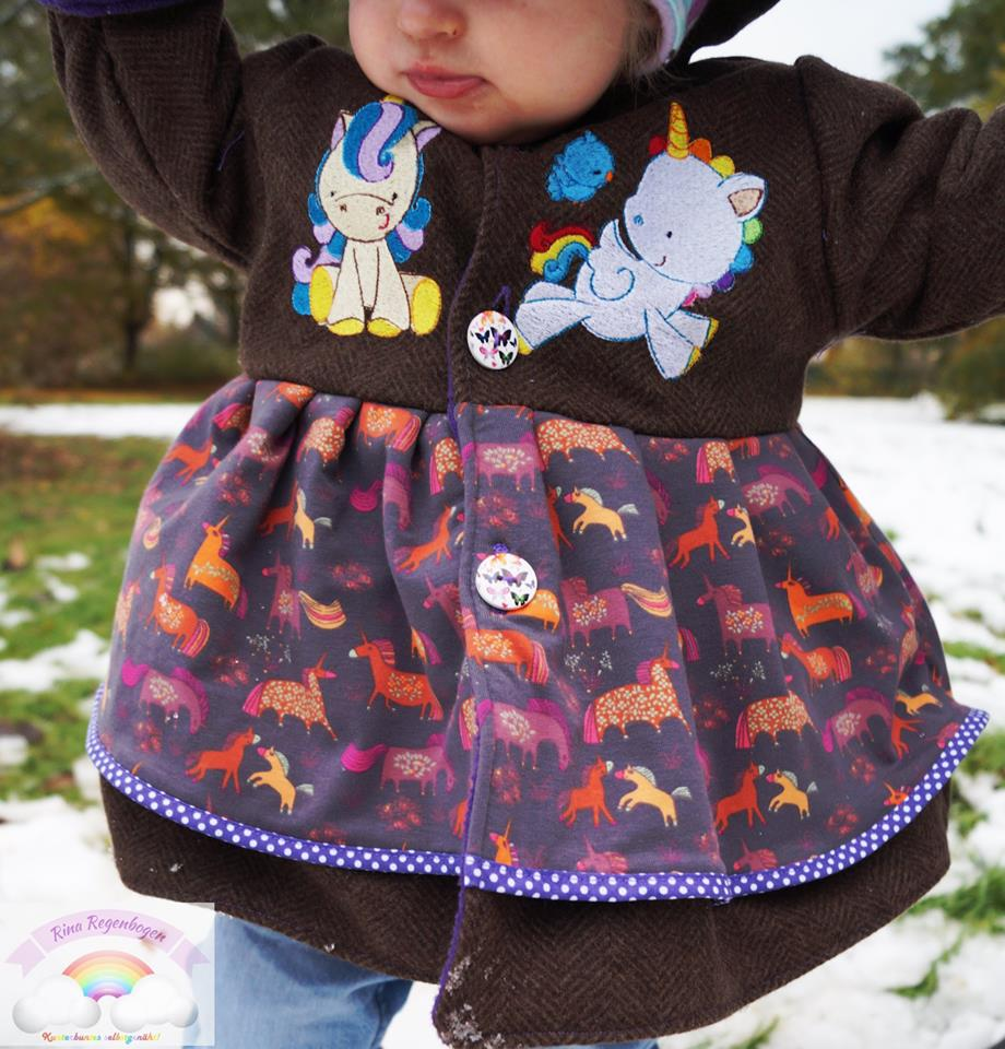 Rina Magical Unicorns Coat