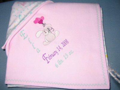 Lynns Daisy Mae Baby Blanket