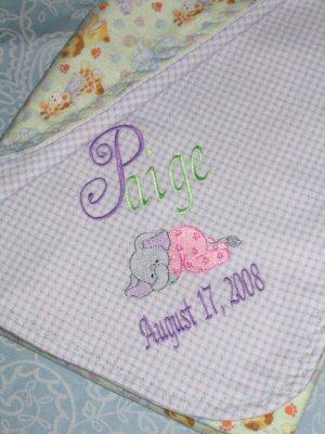 Lyns Dreamers Baby Blanket