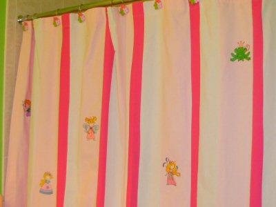 Pats Fairy Love and My Fair Princess Shower Curtain