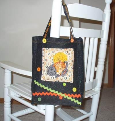 Rhondas Pumpkins Galore Halloween Bag