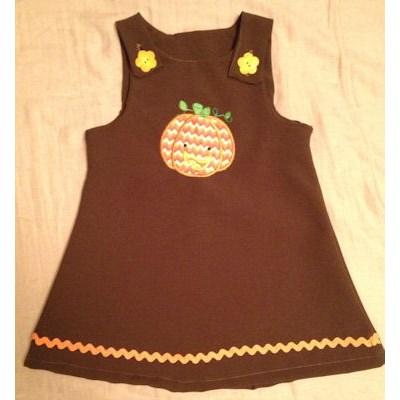Britney Halloween Applique Dress