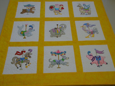 Pats Carousel Animals Change Mat