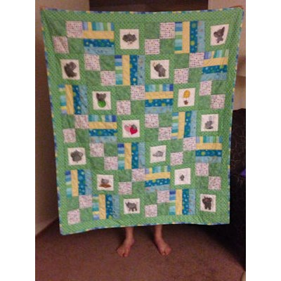 Robyn Baby Elephant Quilt
