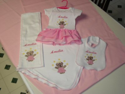 Angelic Bears Girls Set